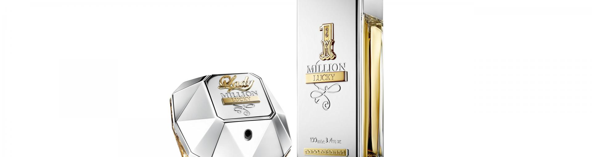 1 Million Lucky i Lady Million Lucky - nowe zapachy Paco Rabanne