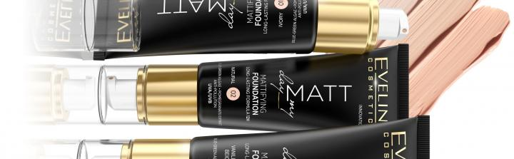 Matt My Day - nowa seria Eveline Cosmetics
