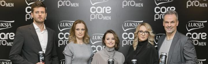 Luksja Care Pro Men – nowy ambasador Michał Winiarski!
