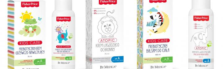 Agencja ACHA PR z marką By Medica Fisher-Price