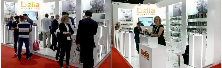 Delia Cosmetics na targach BeautyWorld Middle East w Dubaju