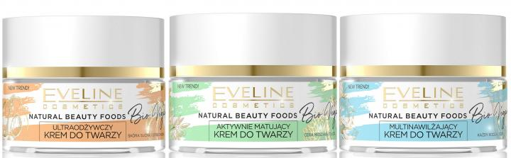 Natural Beauty Foods Bio Vegan - seria pielęgnacyjna Eveline Cosmetics